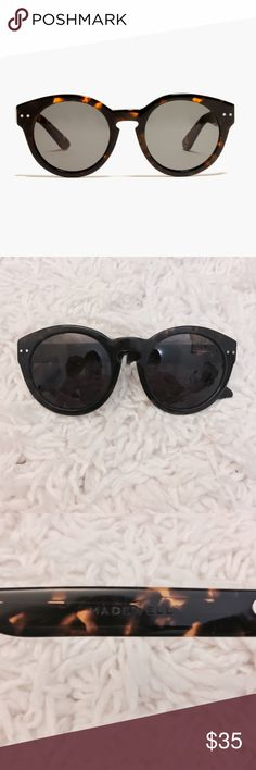 MADEWELL Hepcat Sunglasses MADEWELL hepcat sunglasses in Tortoise. No marks or scratches Madewell Accessories Sunglasses