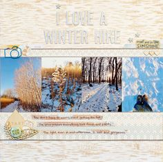 Use Your Photos of Nature to Scrapbook a Personal Story | Marcia Fortunato | Get It Scrapped
