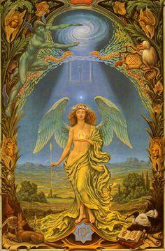 Johfra Bosschart,  Zodiac signs - Virgo (Zodiakserie - Maagd, April 17, 1974)