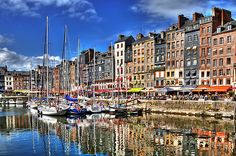 Honfleur // Normandy, France    I love this village. I think that I was lost in translation during the boat tour.