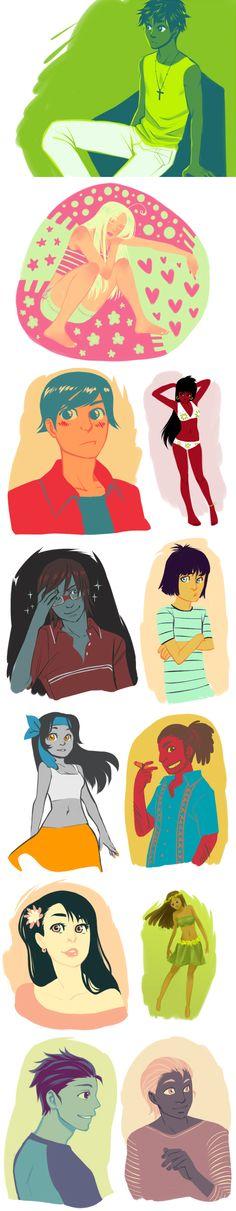 LH: Color schemes by zulenha