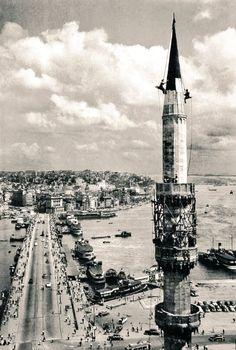Galata Köprüsü 1957 ara güler