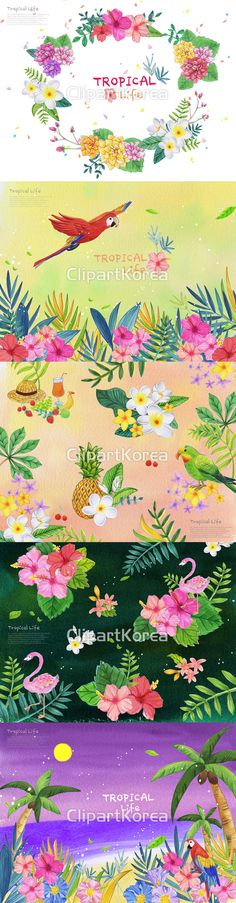 꽃 밤 보름달 수채화 식물 앵무새 야자수 여름 영어 일러스트 페인터 해변 화려함 백그라운드 홍학 딸기 메시지 모자 바나나 앵두 주스 파인애플 나뭇잎  날개짓  비행 프레임 Flower Night Full Moon Watercolor Plant Parrot Palm tree Summer English Illustration Illust Painter Seashore Splendor Background Flamingo Strawberry Message Hat Banana Cherry Juice Pineapple Leaves Wing Flight Frame 클립아트코리아 이미지투데이 통로이미지 clipartkorea imagetoday tongroimages