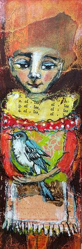 """LZ11 """"Alles Alles Alles wird gut"""" - Little bookmarkpainting by Piarom"""