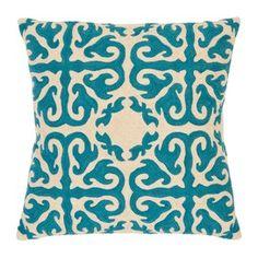 Gabriel pillow in blue rain