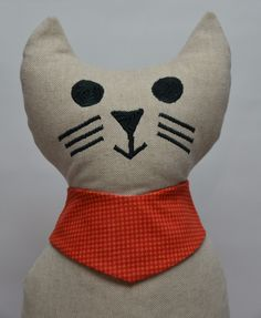 Türstopper - Türstopper Katze - ein Designerstück von  StoffAttitude bei DaWanda http://de.dawanda.com/product/96369091-tuerstopper-katze