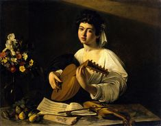 1595-1596 The Lute Player by Caravaggio
