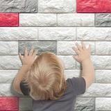 3D Brick Wall Wallpaper - A Little DIY Project to Improve Your Home! - Next Deal Shop - 10
