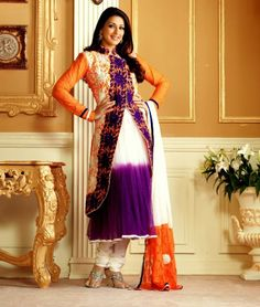 Get exclusive collection of Sonali Bendre's #Anarkali_Suits.