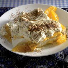 Recept - Tiramisu met advocaat en sinaasappel - Allerhande