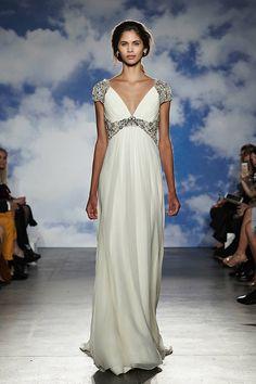 Grecian-Inspired Wedding Gowns - Grecian Gowns Bridal Fashion Week 2015 - ELLE#slide-12