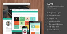Kyte from: 70 Flat Responsive HTML Website Templates http://bashooka.com/freebie/flat-responsive-html-website-templates/