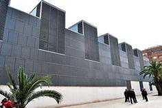 Museo de Bellas Artes de Castellón Pabellón de restauración  #Spain