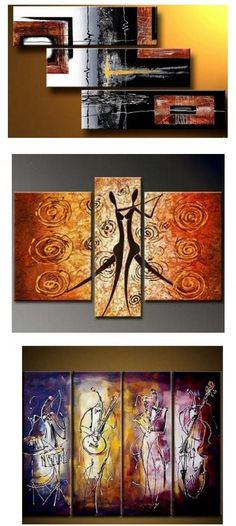 Extra large hand painted art paintings for home decoration. Large wall art, canvas painting for bedroom, dining room and living room, buy art online. 3 Piece Canvas Art, 3 Piece Wall Art, Large Canvas Art, Large Art, Hand Painting Art, Online Painting, Large Painting, Paintings Online, Painting Abstract