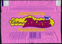 Sweet wrappers over the years - Page 22 Vintage Sweets, Vintage Candy, Retro Sweets, Sweet Wrappers, Candy Bar Wrappers, Kids Cereal, Cereal Boxes, Selection Boxes, Inspiration Design