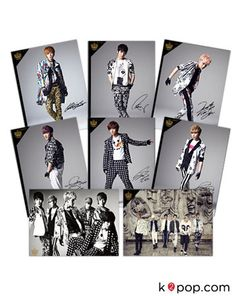K2POP - 2013 TEEN TOP NO.1 ASIA TOUR IN SEOUL TEEN TOP OFFICIAL CONCERT GOODS : POSTER SET IN TUBE (8PCS)