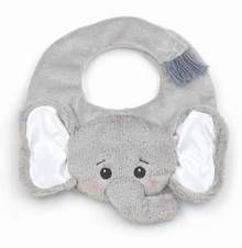 Lil Spout Elephant Bib by Bearington Bear. Available at OurPamperedHome.com