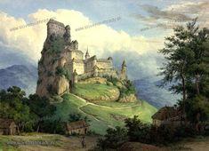 Gabriel, Golf Courses, Castle, Painting, Pray, Archangel Gabriel, Painting Art, Castles, Paintings
