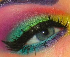 Watercolor! fun makeup.. my daughter wants me to try! :}