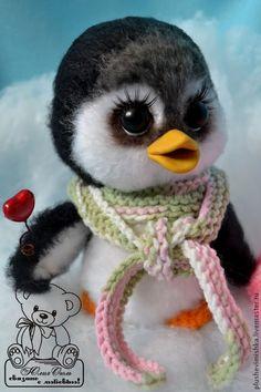 Пингвиненок Тинки - чёрный,пингвин,пингвины,пингвинчик,пингвиненок,ручная работа