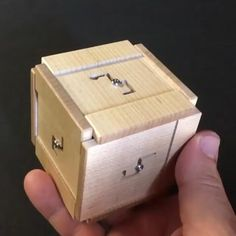 Wooden Puzzle Box, Wooden Puzzles, Wooden Toys, Woodworking Crafts, Woodworking Plans, Woodworking Videos, Woodworking Projects That Sell, Woodworking Furniture, Diy Wood Projects
