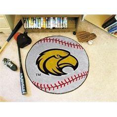 Southern Miss Mississippi USM Baseball Floor Rug Mat