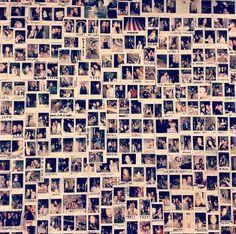 Polaroid wall! <3