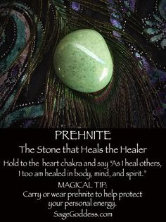 Prehnite (Printable) | Witches Of The Craft®
