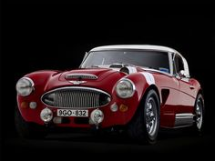 1967 Austin Healey 3000 BJ8 Rally Car