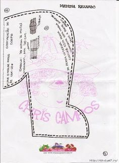 Boneca de pano Menina Orando com Molde para imprimir - Como Fazer Map, Doll Patterns, Google, Doilies Crafts, Bible Crafts, Handmade Rag Dolls, Felt Templates, Lol Dolls, Cloth Art Dolls