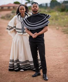 Xhosa Attire, African Attire, Vivienne Westwood Wedding Dress, Shweshwe Dresses, African Traditional Dresses, Africa Fashion, African Design, Modern Fabric, African Women