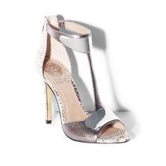 3b009bd77 Vince Camuto  KIPTON silver goddess heels  GiuseppezanottiHeels Nude Shoes