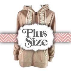 Boho Zip Up Hoodie | Camel