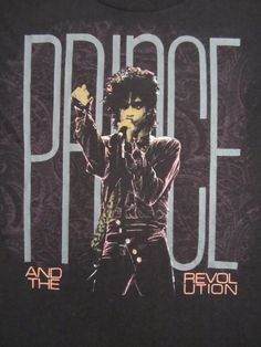 Purple Rain Tour T-Shirt.