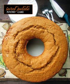 Cake with carrot and ham - Clean Eating Snacks Pound Cake Glaze, Easy Pound Cake, Pound Cake Recipes, Sweet Potato Pound Cake, Sweet Potato Cookies, Southern Pound Cake, Sweet Potato Recipes Healthy, Almond Pound Cakes, Sugar Free Cookies