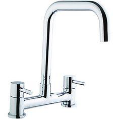 Single lever taps kitchen taps kitchen rooms diy at bq wickes seattle bridge kitchen sink mixer tap chrome workwithnaturefo