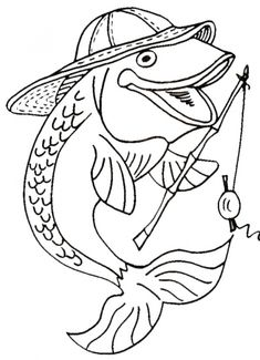 Rainbow Trout Picture To Color 4 Coloring Page With