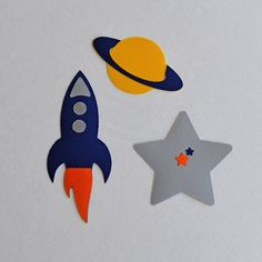 Space Theme Appliques Iron On  No Sew by HappyPatches on Etsy, $12.00