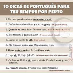 10 DICAS PARA TER SEMPRE POR PERTO