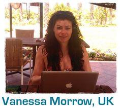 Vanessa's new desk i