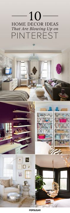 Studio apartments, closet hacks, styling tricks, and paint inspiration