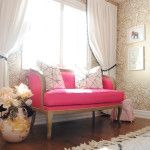PINK AND GOLD NOOK