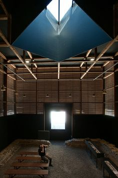 Shelters for Roman archaeological site. Chur, Switzerland ' Peter Zumthor, 1986