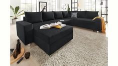 Jetzt Collection AB Wohnlandschaft mit Federkern, wahlweise mit Bettfunktion günstig im cnouch Online Shop bestellen