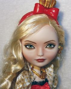 "Ever After Monster High Repaint OOAK Apple White "" Amanda Seyfried "" 5 Days | eBay"