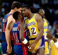 Lakers vs. The Bad Boys