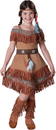 Elite Girls Indian Maiden - beautiful girls Indian Halloween costume