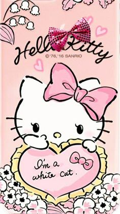 Download Gratis Wallpaper Hello Kitty Pink Animasi Bergerak Terbaru