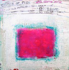 pinksquare, art journal