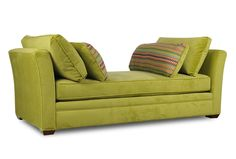 "Dartmouth Daybed in a different color...purple or other room ""pop color"" Buy linens for bed use."